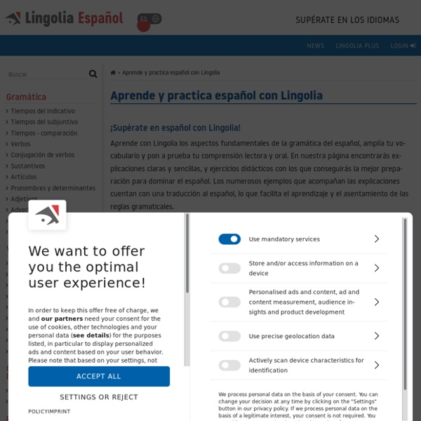 Aprender español en internet