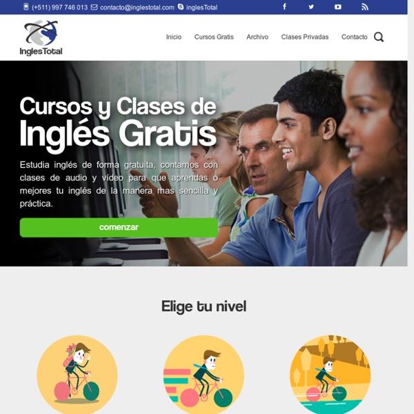 Curso online de ingles gratis
