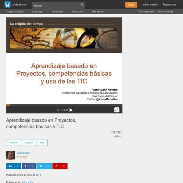 Aprendizaje basado en Proyectos, competencias básicas y TIC