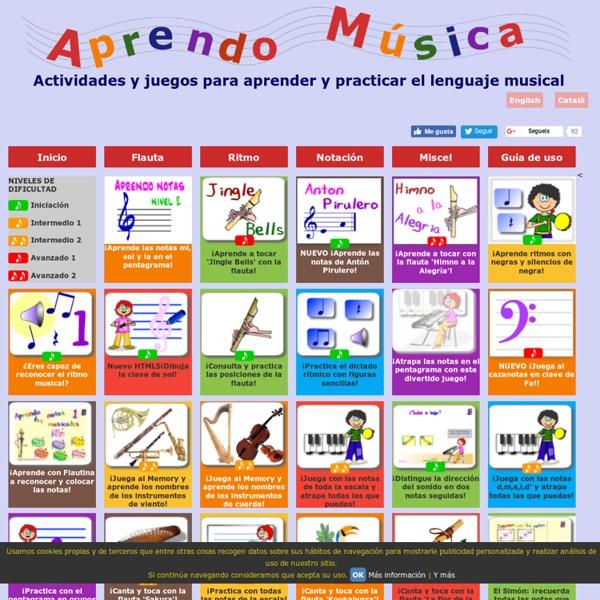Aprendo Musica con las TIC