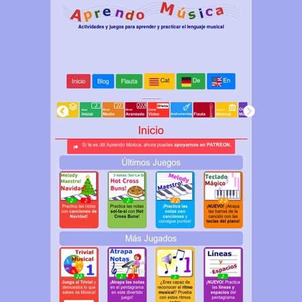 Aprendo música