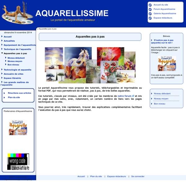 ..: Aquarellissime [Aquarelles pas à pas] :..