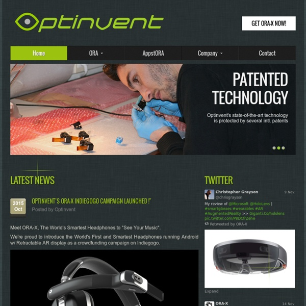 AR Glasses by Optinvent