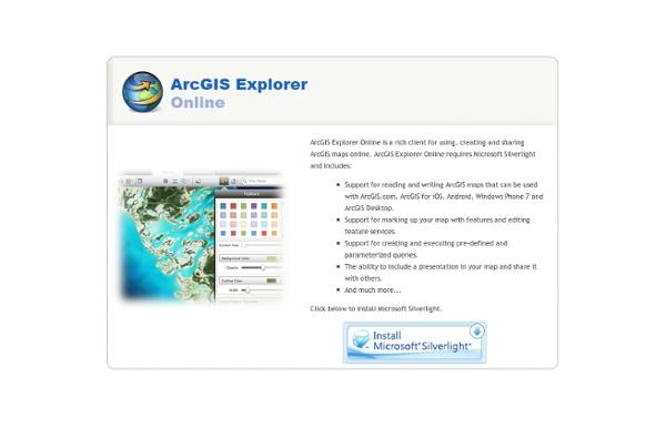 ArcGIS Explorer Online