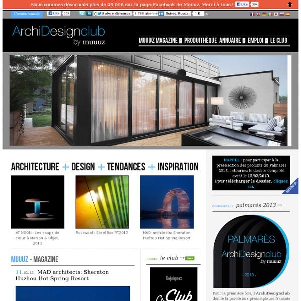 Muuuz - Webzine Architecture & Design
