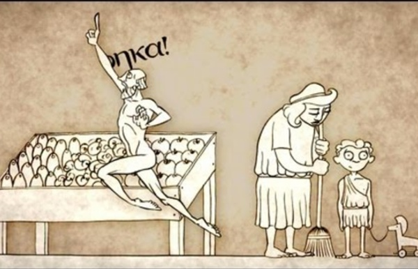 How taking a bath led to Archimedes' principle - Mark Salata