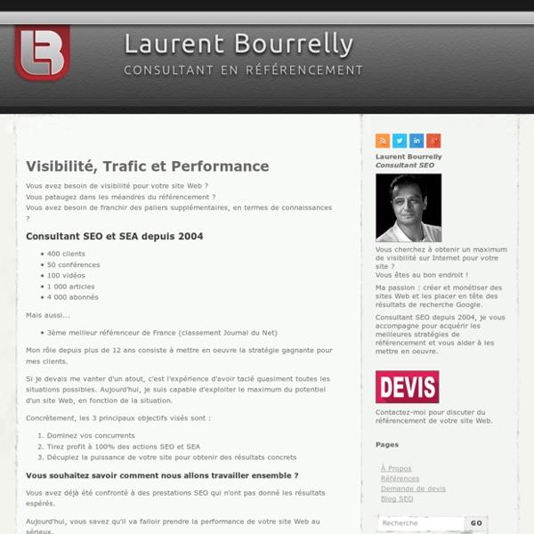 → Consultant en référencement : Laurent Bourrelly