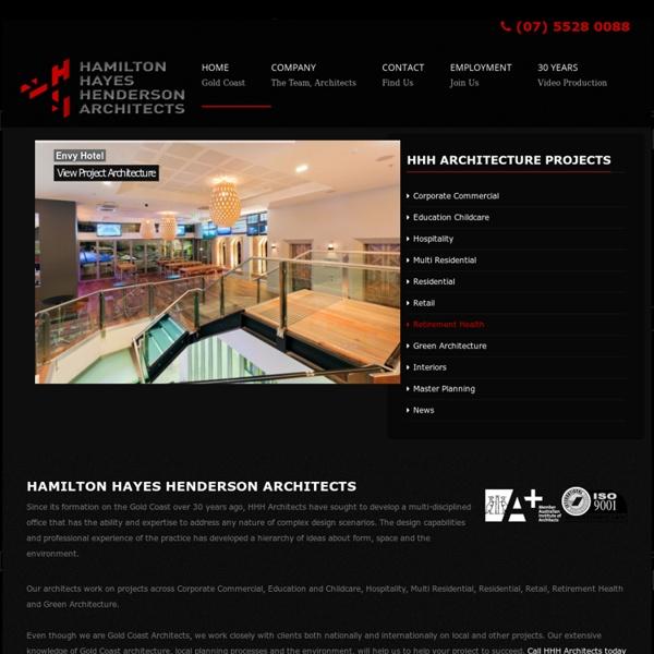 Gold Coast Architects - Hamilton Hayes Henderson Architects - Green, Environmental, GBCA Architects