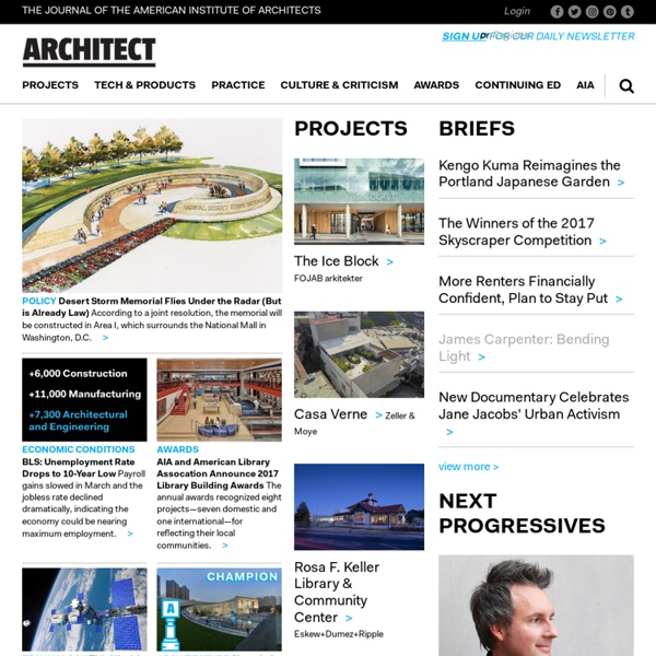Architect Online: A premier site for Arch