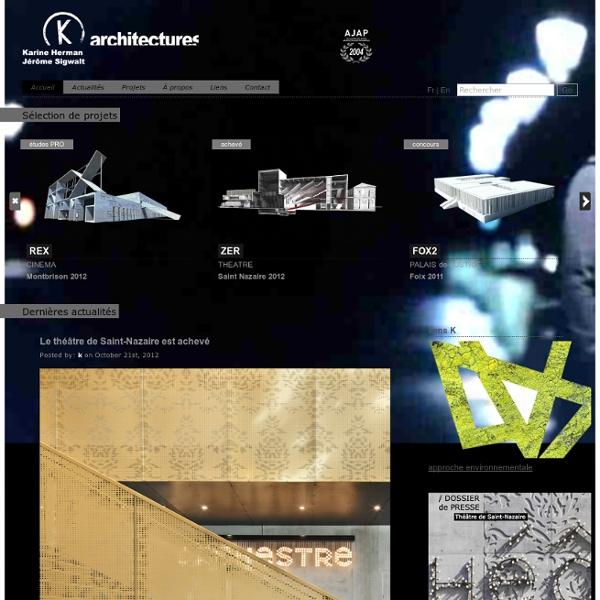 K architectures - Karine Herman et Jérôme Sigwalt