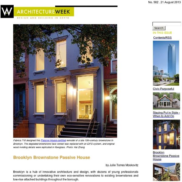 ArchitectureWeek - 2009.0603