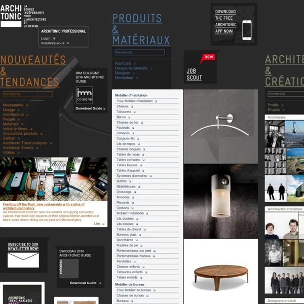 Architecture et Création