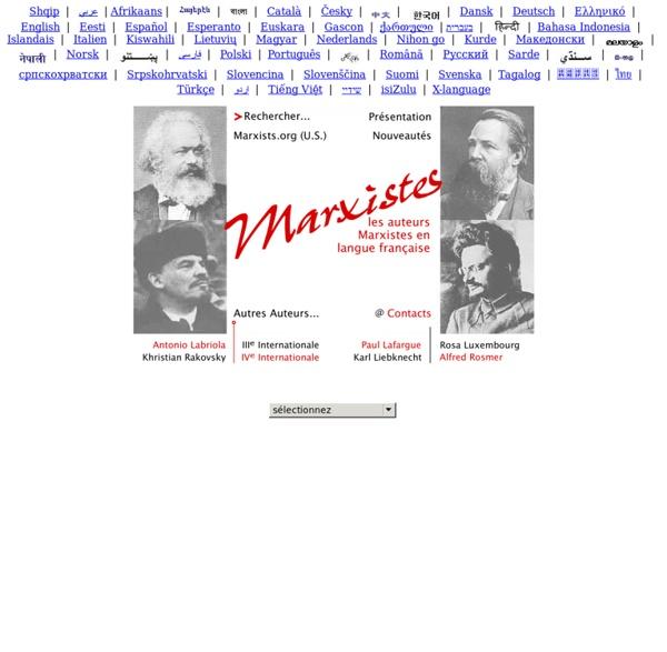 Archive Internet des marxistes