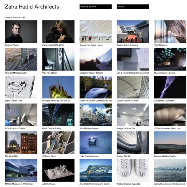 Archive – Zaha Hadid Architects - Waterfox
