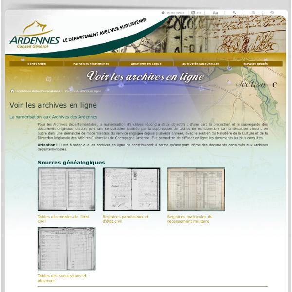 AD des Ardennes (08) - Archives départementales des Ardennes