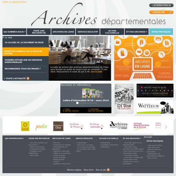 Archives départementales de l'Oise