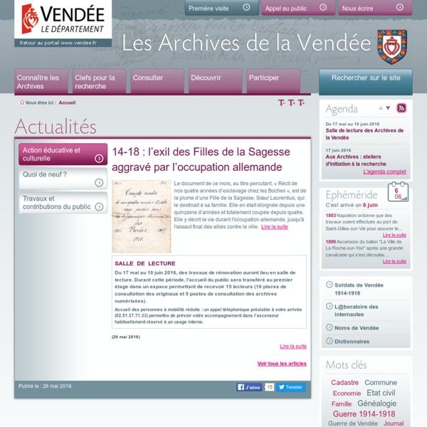 Archives de Vendée