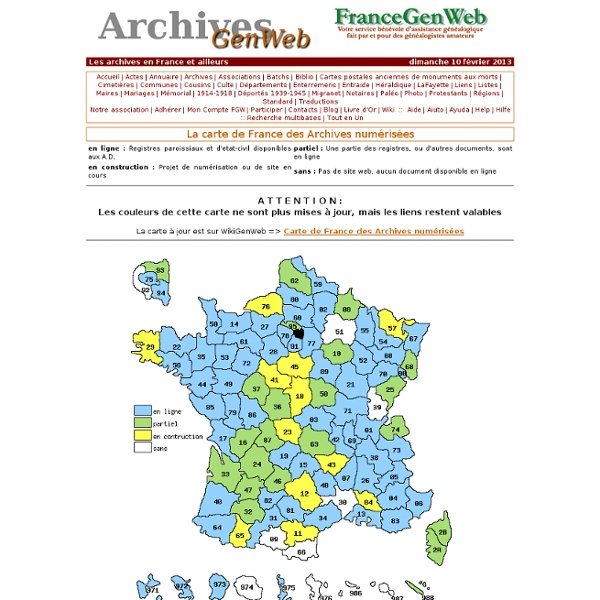 ArchivesGenWeb