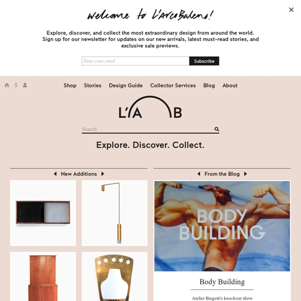 L'ArcoBaleno: Explore and shop historic and contemporary design.