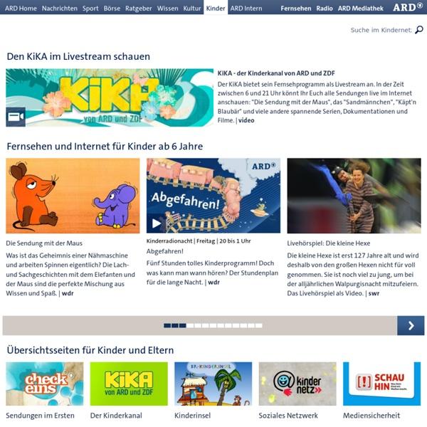 Kinder.ARD.de - Kinderangebote bei ARD.de