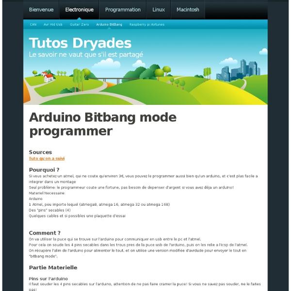 Arduino BitBang | Pearltrees