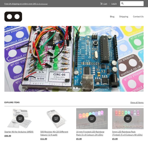 .:oomlout:. Arduino & DIY Electronics and kits in the UK