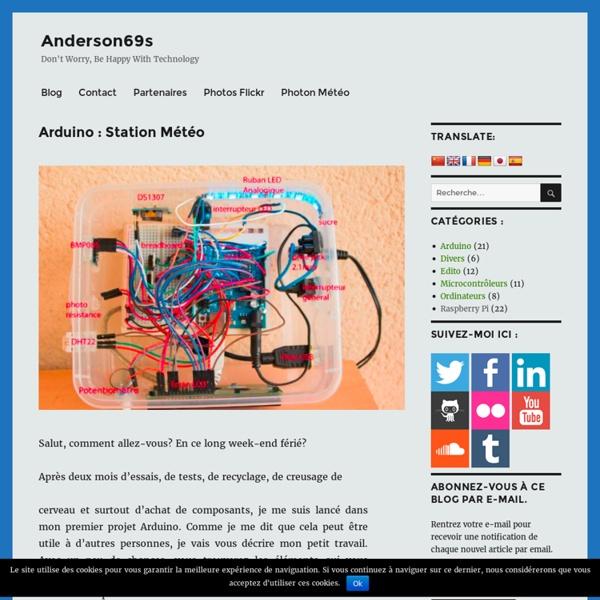 Arduino : Station Météo