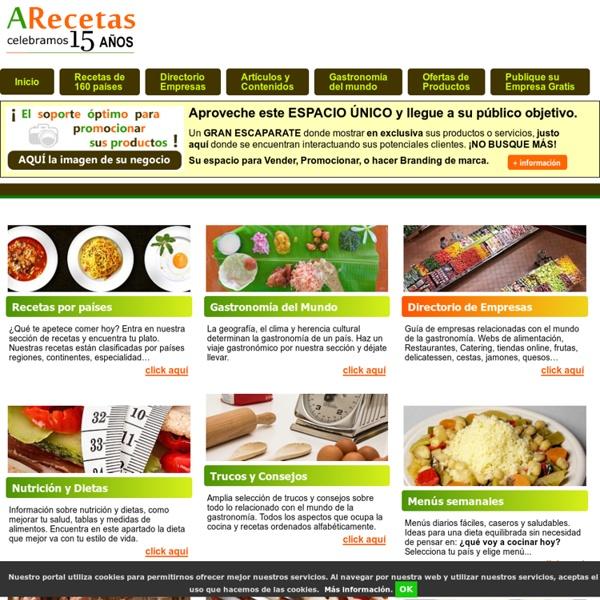 Recetas de cocina de todo el mundo pearltrees for Todo para la cocina