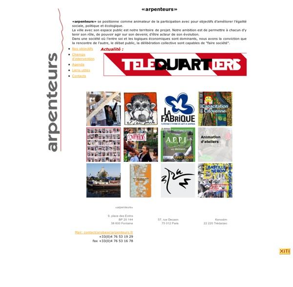 Arpenteurs - Urbanisme et Participation citoyenne