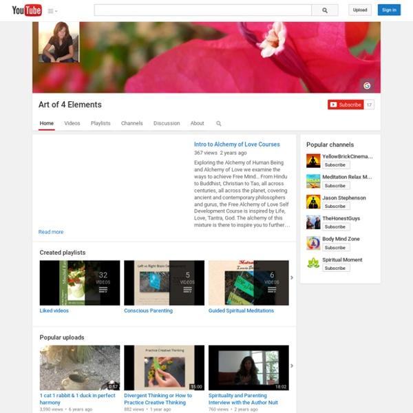 Art of 4 Elements Youtube Channel
