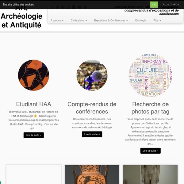 Art Archéologie Antiquité