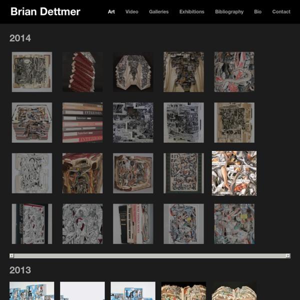 Sculpture sur Livres – Brian Dettmer