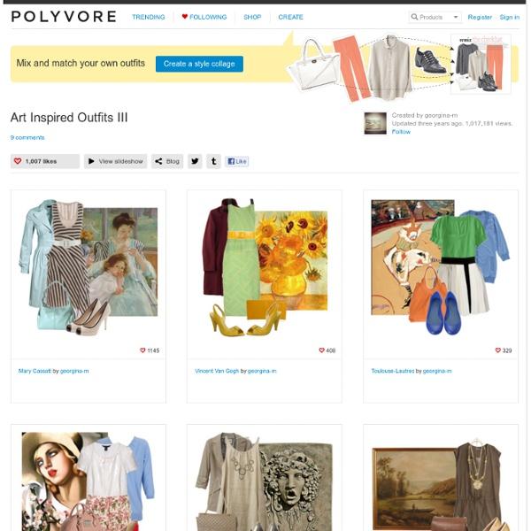 Art Inspired Outfits III - Polyvore - StumbleUpon