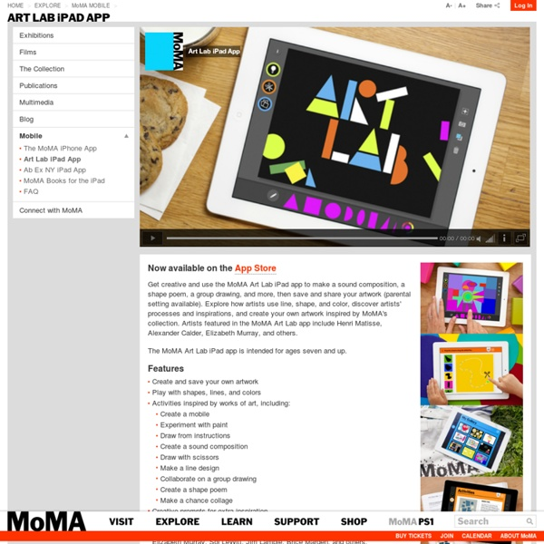 Art Lab iPad App
