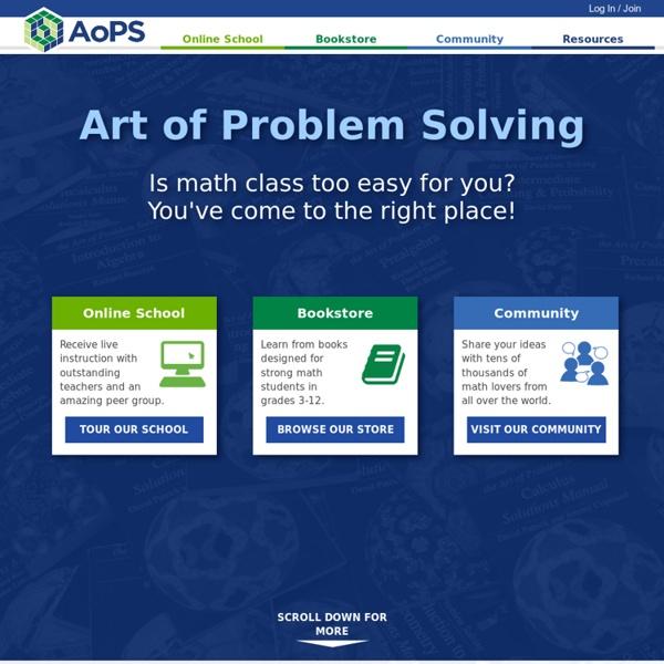 Art of Problem Solving (AoPS)