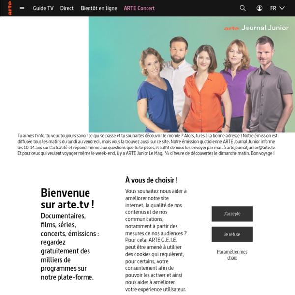 ARTE Journal Junior - Info et société