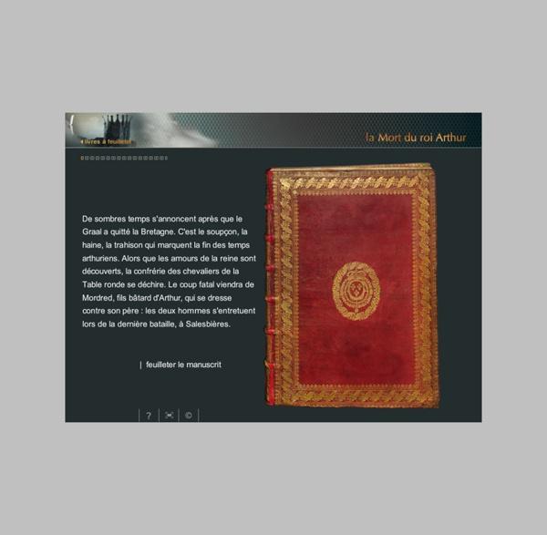 La Mort du roi Arthur - feuilleter le manuscrit