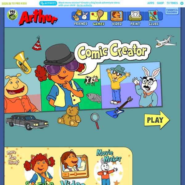 Games . Comic Creator