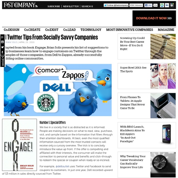21 Twitter Tips From Socially-Savvy Companies