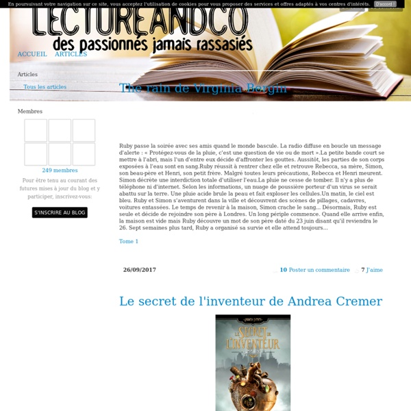 articles lectureandco partage de livres ebook au format epub bit lit fantasy romance. Black Bedroom Furniture Sets. Home Design Ideas