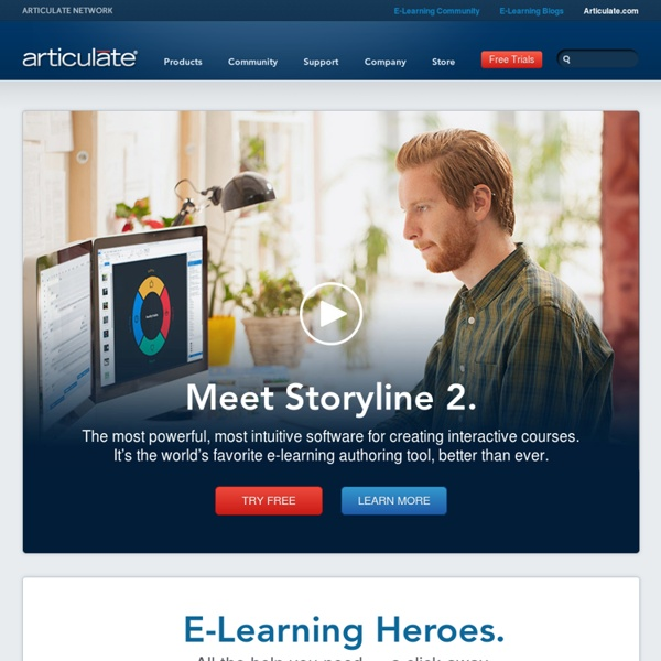 E-Learning Software and Authoring Tools