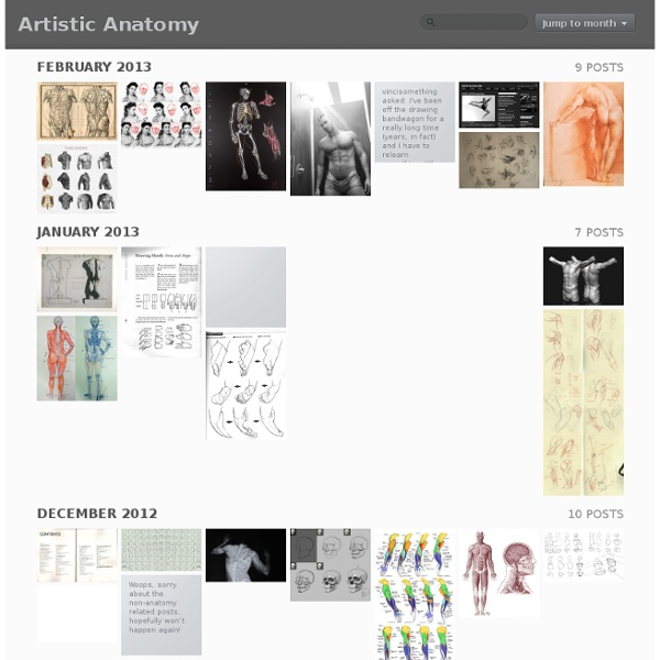 Artistic Anatomy: Archive