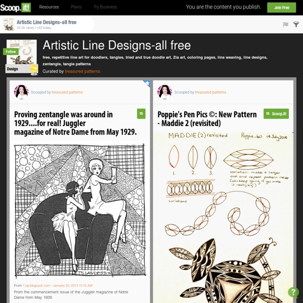 Artistic Line Designs-all free