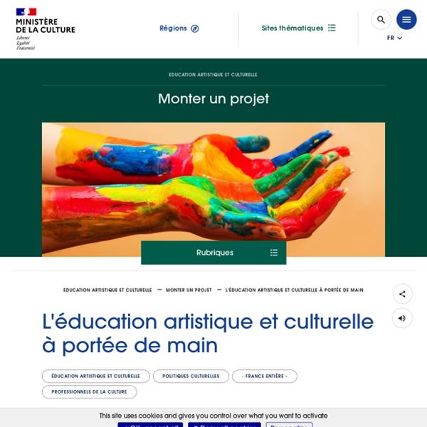L'éducation artistique et culturelle à portée de main
