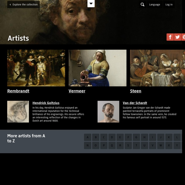 Artists - Explore the collection