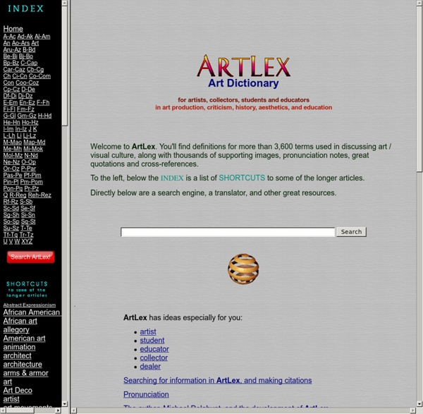 ArtLex Art Dictionary