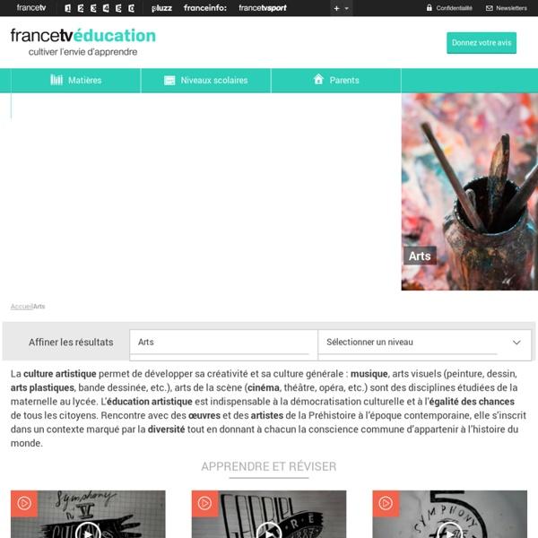 FranceTV éducation - Arts