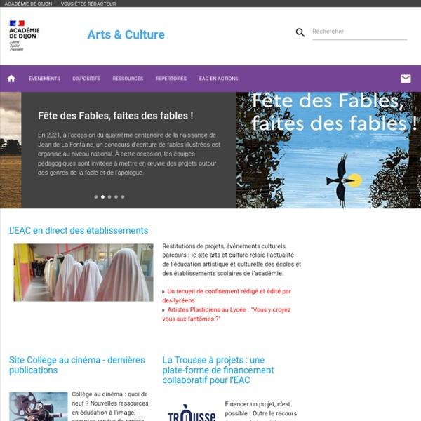 SITE + RSS Ac. Dijon : Arts & Culture