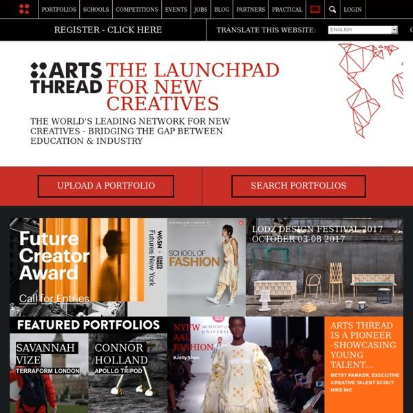 ARTS THREAD - The World's Only Creative Graduate Website