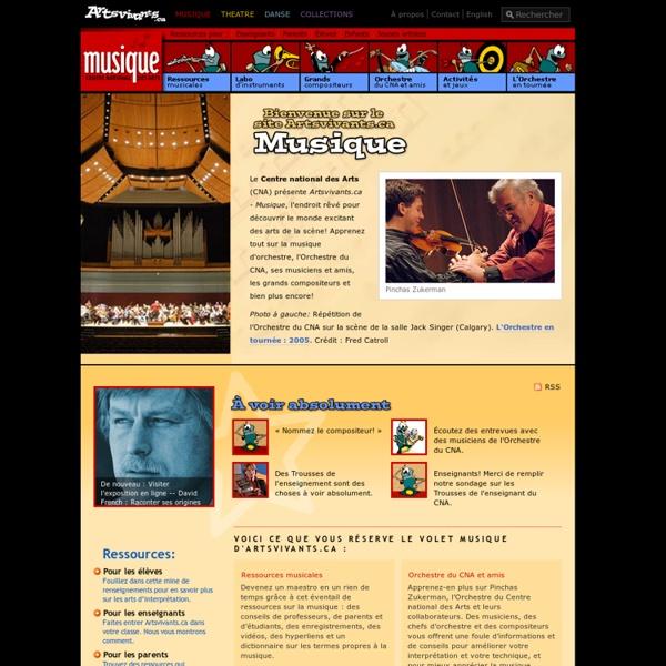 Artsvivants.ca Musique